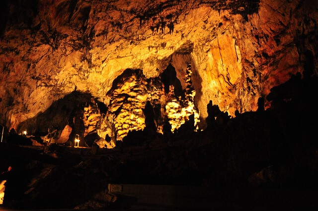 Concert Hall in Aggtelek Cave