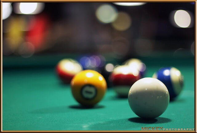 Billiard balls: a classic metaphor for reductionist science