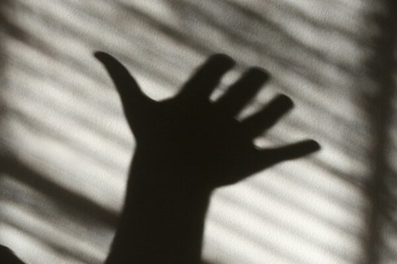 Outspread hand